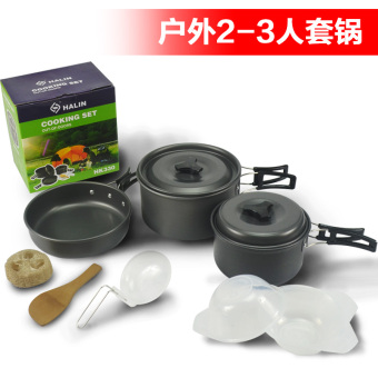 Outdoor camping picnic non stick pot cookware