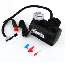 Portable Mini Auto Car Electric Air Compressor Tire Infaltor Pump (intl)