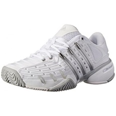 adidas Performance Womens Barricade V Classic W Tennis Shoe,  White/Silver/Grey, US - intl