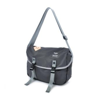 authentic anello messenger bag S size AT-B1622 - GREY