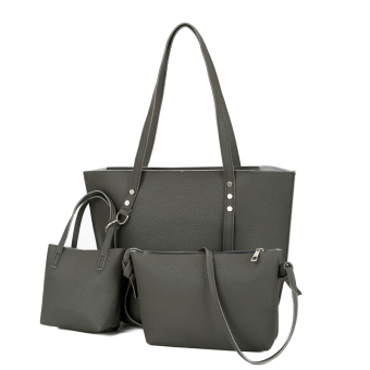 Bag New style women's bag (Dark gray color)