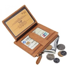 ... Wallet Genuine Leather Business Source · Clutch Source Business Source BISON DENIM Genuine Leather Mens Vintage Card Holder Zipper Coin Pocket Purse