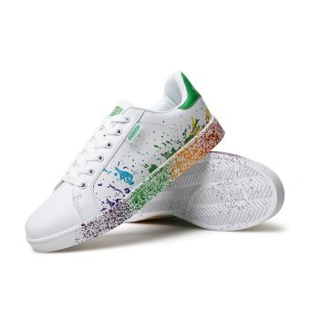 BYL-as men shoes breathable tide shoes (White green)