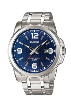 Casio Classic Series Men's Stainless Steel Strap Watch MTP1314D-2A