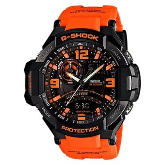 Casio G-Shock Aviation Series Gravity Defier Twin Sensor Watch GA1000-4A