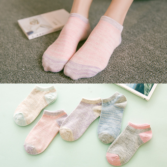 Cotton hidden thin athletic socks (919)