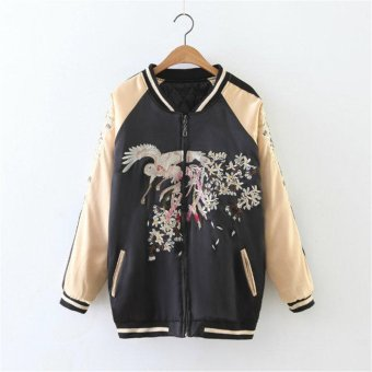 Couple Phenix baseball clothes flying the loose embroidery jacket