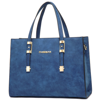 Fansiman European and American New style Shishang women's bag (Sapphire)