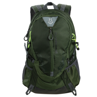 Fashion Waterproof Outdoor Sports Shoulder Bag Travel Backpack (Army Green)