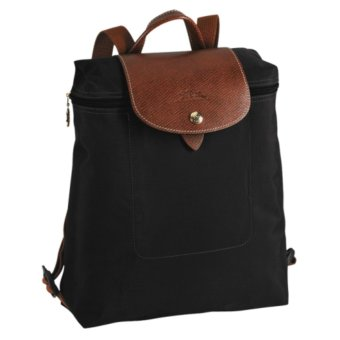 LONGCHAMP 1699 LE PLIAGE BACKPACK - Black Price in Singapore