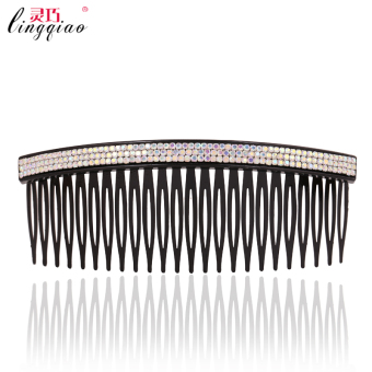 Japan and South Korea comb with teeth hairpin diamond comb (Large AB color)