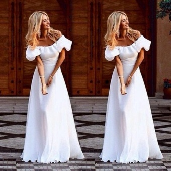 JOJO Women Maxi Summer Beach Long Dress Evening Party Dress - intl