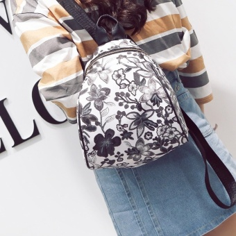 Korean-style summer New style backpack (Purple)