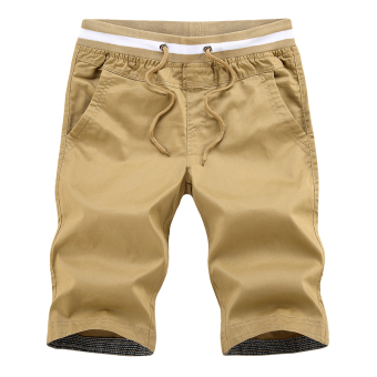 LOOESN casual men summer Plus-sized shorts (Cotton does not fade do not shrink)