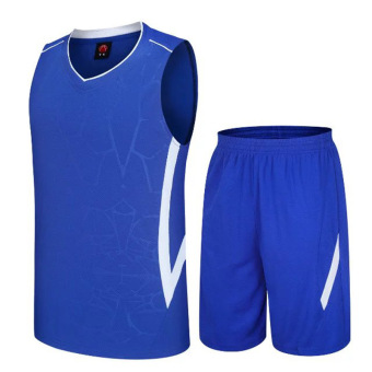 LOOESN young men's men's summer running clothes (Color Blue)