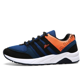 Men fall New style wear and running shoes men's shoes sports shoes (42 + Resistance 210 dark blue)