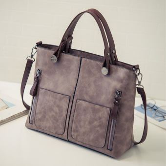 Ms. New style autumn and Portable Bag (Purple) (Purple)