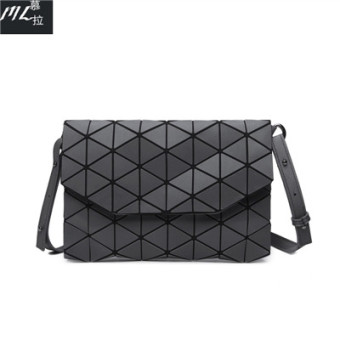New style geometric shoulder cross-body small bag quilted bag (Matte gray version1) (Matte gray version1)
