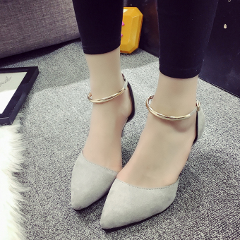 New style pointed fine with sexy high-heeled shoes