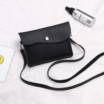 New style shoulder cross-body dual use women's bag (Black)