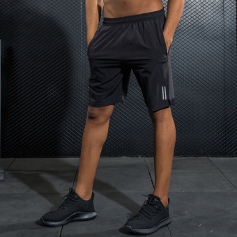 New style sports shorts Men Five pants loose running quick-drying fitness summer thin section breathable marathon shorts
