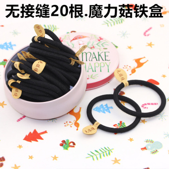 No pick sewing rubber band tousheng headdress hair Ring (No pick sewing 20. Magic mushroom)