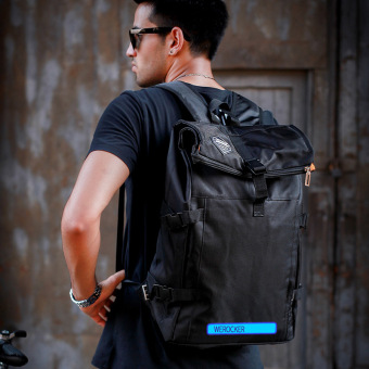 Popular brand in Europe and America Travel shining backpack