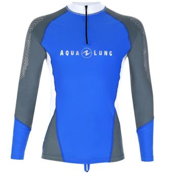 Rashguard Blue/Grey Men Long Sleeves