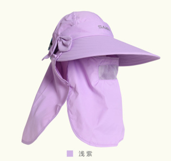 Santo outdoor female spring and summer sun hat visor cap