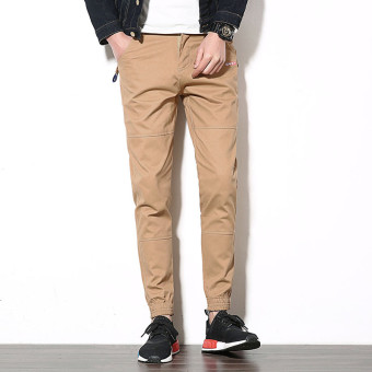 Spring New style casual pants (Khaki)