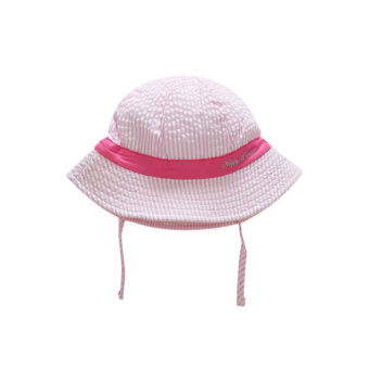 Summer clearance baby hat female baby princess hat cap spring and autumn sun hat 6-18 a month sun bucket hat tide (Strap Small bucket hat-red)