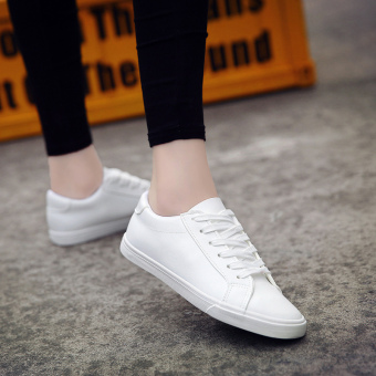 Summer lace BayMini shoes shoes (White)