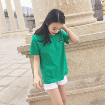 Women's Korean-style loose-fitting short-sleeve t-shirt