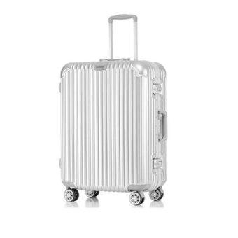 """Aluminium-Framed Hard Shell Trolley Luggage (20"""")"""