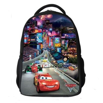 Car general mobilization racing CHUSIHAI McQueen grade school bags
