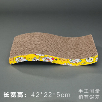 Cat Scratch board bowl-type grinding claw is corrugated cat litter cat sofa catlike board cat toy cat supplies