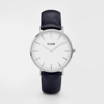 CLUSE La Boheme Silver White/Midnight Blue - CL18232