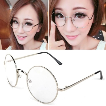 Costume Cosplay Harry Potter Glasses Dress Up Spectacles HalloweenSliver - intl