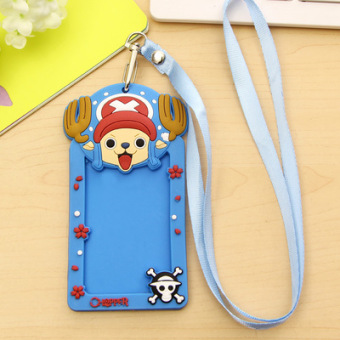 Cute student traffic access control clip card holder