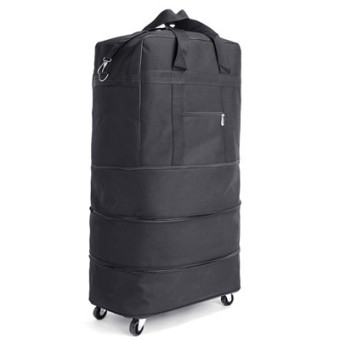 Ultra-light large capacity omnidirectional wheels airport consign bag
