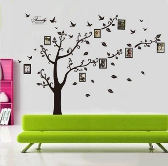 Dagou huge 6 ft h x 9 ft w memory family tree photo 1set for 9 foot wide living room