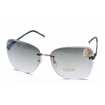 Rimless Glasses Singapore : Jo.In Butterfly Women Rimless Sunglasses Flower UV400 ...