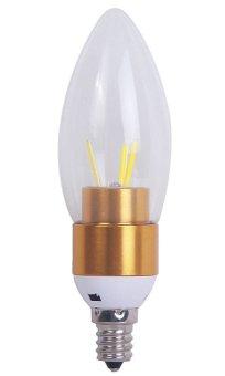 NiceEshop LED E12 3W 350lm COB Warm White Candle Light LED
