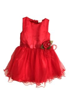 Red Baby Party Dress