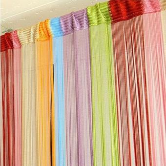 line partition 1mx2m interior string curtains