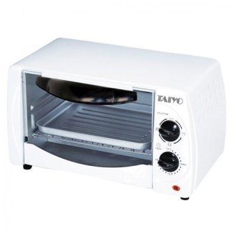 Taiyo TE9L Oven Toaster White Lazada Singapore