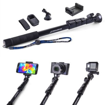 xcsource handheld monopod telescopic selfie stick remote case for iphone 5s 6 gopro dc558 intl. Black Bedroom Furniture Sets. Home Design Ideas