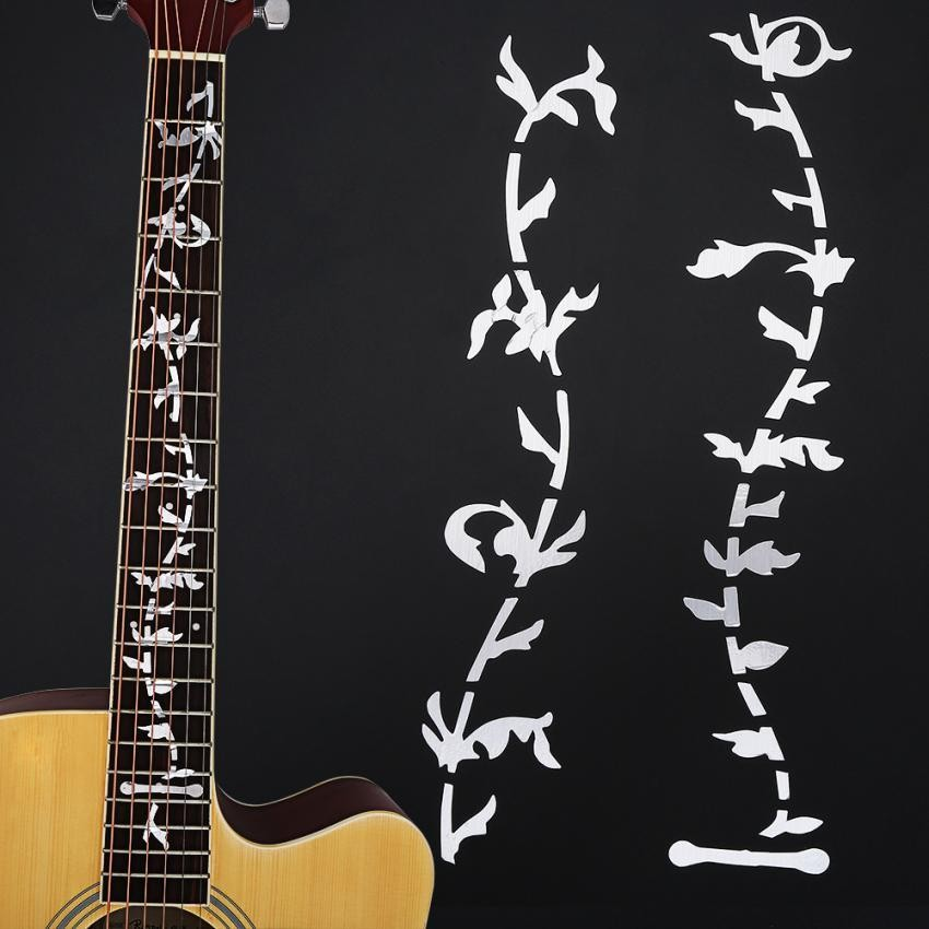 Guitar Inlay Stickers Dragon Guitarra Fretboard Decals/ Markers For Guitar  Fret Neck