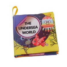 Colorful Baby Kids Cloth Cognize Book- Sea World(Export)