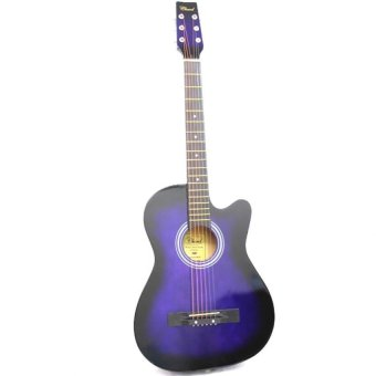 "Harga 38"" Acoustic Guitar (Purple)"
